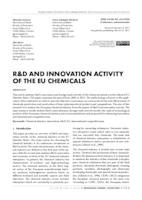 prikaz prve stranice dokumenta R&D AND INNOVATION ACTIVITY OF THE EU CHEMICALS