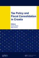Tax Policy and Fiscal Consolidation in Croatia