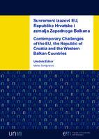 Suvremeni izazovi EU, Republike Hrvatske i zemalja Zapadnoga Balkana